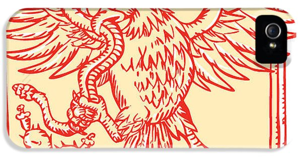Etching iPhone 5s Case - Etching Engraving Handmade Style by Patrimonio Designs Ltd