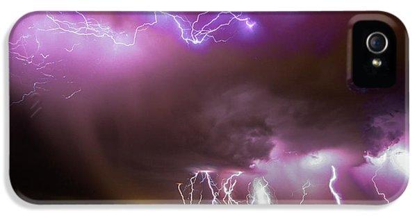 Nebraskasc iPhone 5s Case - Just A Few Bolts 001 by NebraskaSC