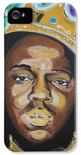 Biggie iPhone 5s Case - King Christopher by Antonio Moore
