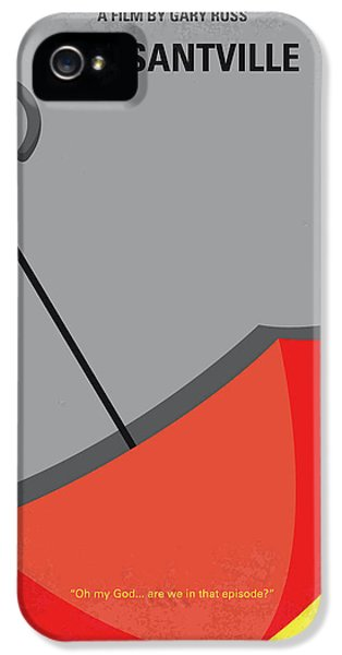 1950s iPhone 5s Case - No990 My Pleasantville Minimal Movie Poster by Chungkong Art