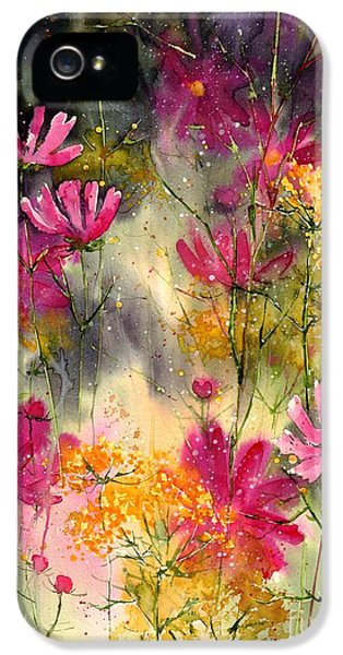Orchid iPhone 5s Case - Pink Ballerinas by Suzann's Art