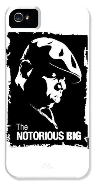 Biggie iPhone 5s Case - Rap Cool Big by Joshyokars