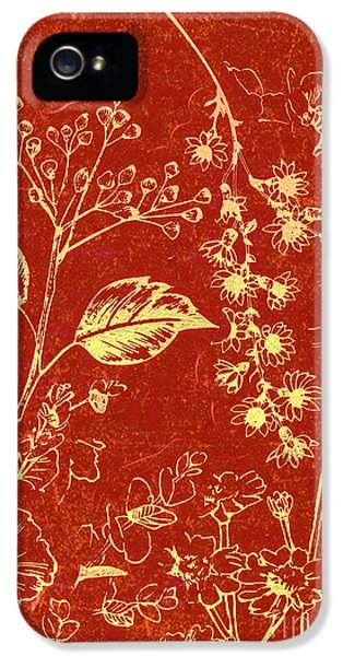 Orchid iPhone 5s Case - Red Blossoms by Jorgo Photography - Wall Art Gallery