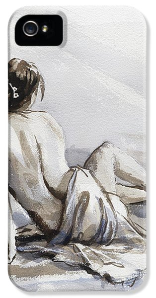 Figurative iPhone 5s Case - Relaxed by Steve Henderson