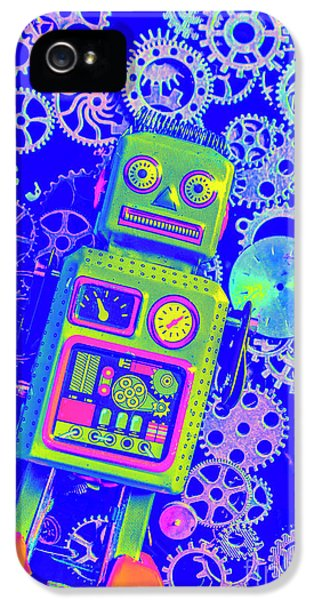 1950s iPhone 5s Case - Robot Reboot by Jorgo Photography - Wall Art Gallery