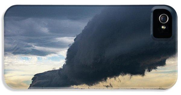 Nebraskasc iPhone 5s Case - September Thunderstorms 003 by NebraskaSC