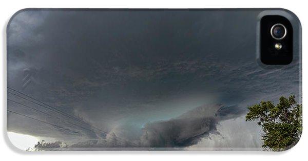 Nebraskasc iPhone 5s Case - Storm Chasin In Nader Alley 008 by NebraskaSC