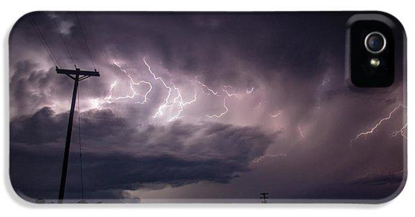 Nebraskasc iPhone 5s Case - The Best Supercell Of The Summer 040 by NebraskaSC