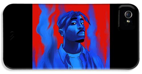 Biggie iPhone 5s Case - Tupac Shakur  Illustrator by Angel Ambar