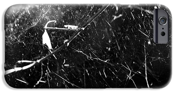 IPhone 6 Case featuring the photograph  Spidernet by Yulia Kazansky