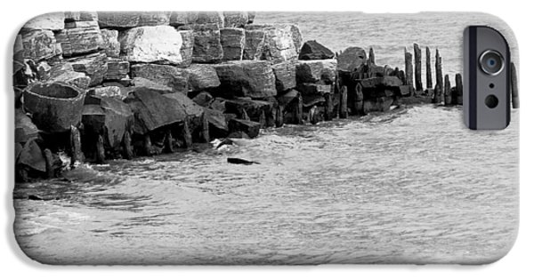 IPhone 6 Case featuring the photograph Breakwater by Ricky L Jones