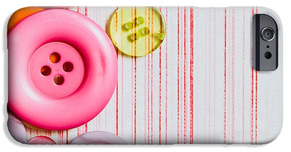 Colorful iPhone 6 Case - Buttons by Tom Gowanlock