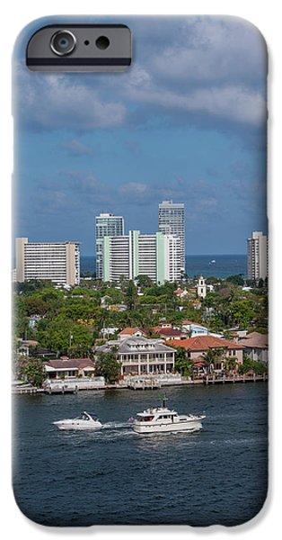 Jet Ski iPhone 6 Case - Fort Lauderdale, Port Everglades by Jim Engelbrecht