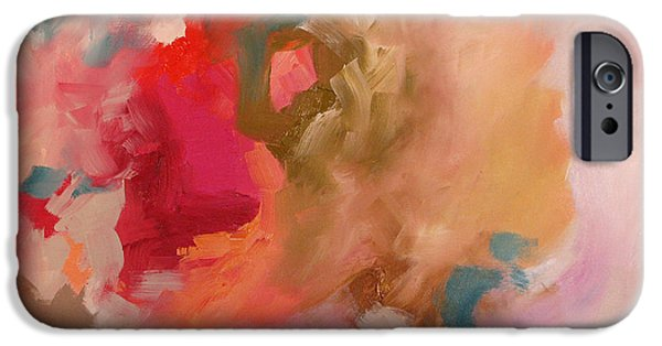Colorful iPhone 6 Case - Lost Symphony by Linda Monfort