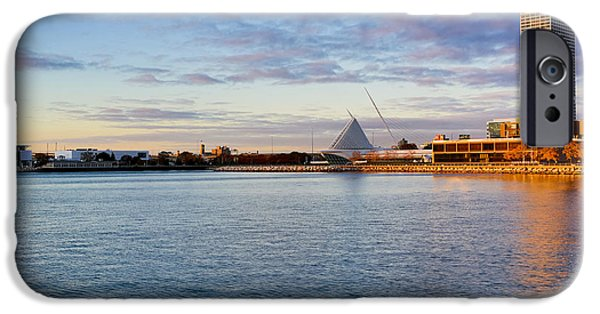 IPhone 6 Case featuring the photograph Milwaukee At Sunrise by Ricky L Jones