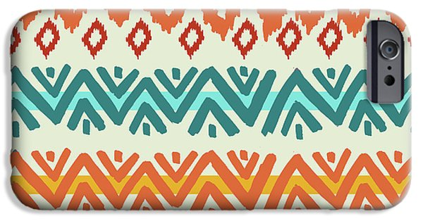 Lake iPhone 6 Case - Navajo Mission Round by Nicholas Biscardi