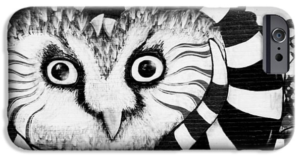 IPhone 6 Case featuring the photograph Owl Mural by Ricky L Jones