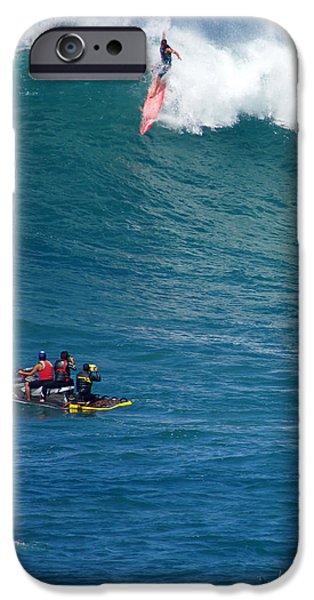 Jet Ski iPhone 6 Case - Waimea Bay Takeoff by Kevin Smith