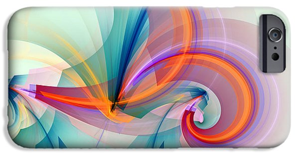 Colorful iPhone 6 Case - 1260 by Lar Matre