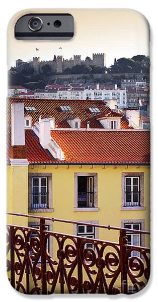 Ironwork iPhone 6 Case - Lisbon View by Carlos Caetano