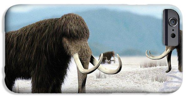 Blue Mammoth Tusk