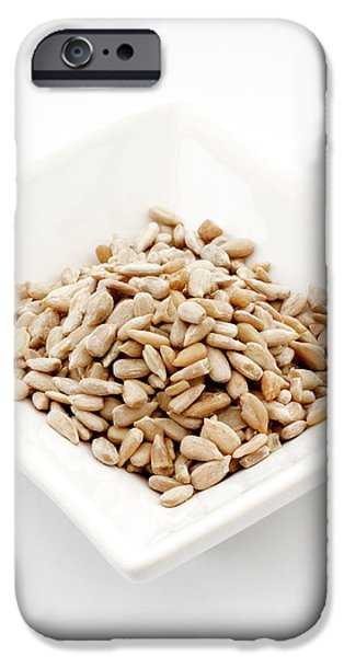 Sunflower Seeds iPhone 6 Case - Sunflower Seeds by Geoff Kidd/science Photo Library