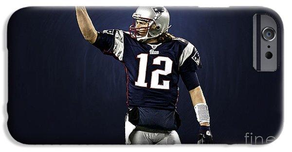 Tom Brady IPhone 6 Case by Marvin Blaine