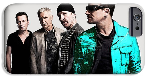 U2 IPhone 6 Case by Marvin Blaine