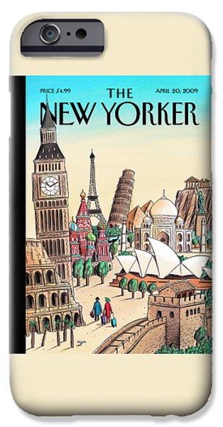 20th iPhone 6 Case - New Yorker April 20th, 2009 by Jacques de Loustal