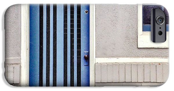 Blue iPhone 6 Case - Blue Door by Julie Gebhardt