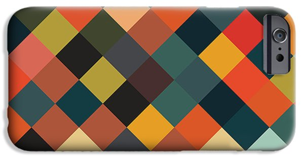 Bold Geometric Print IPhone 6 Case