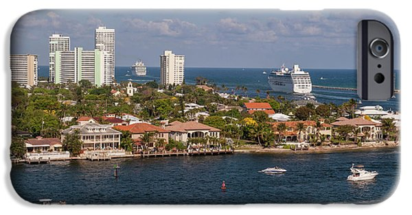 Jet Ski iPhone 6 Case - Fort Lauderdale, Port Everglades by Lisa S. Engelbrecht