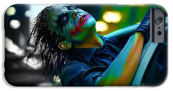 Heath Ledger IPhone 6 Case by Marvin Blaine
