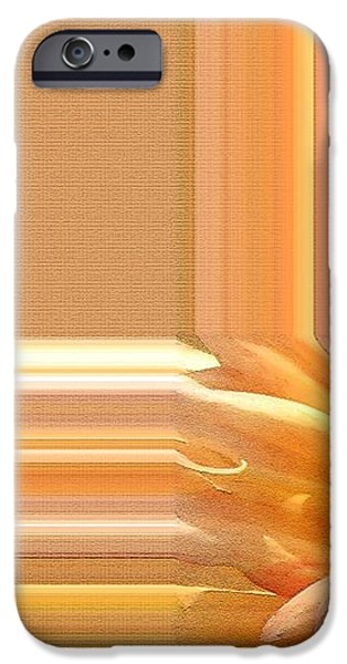 Dahlia named Intrepid iPhone Case by J McCombie