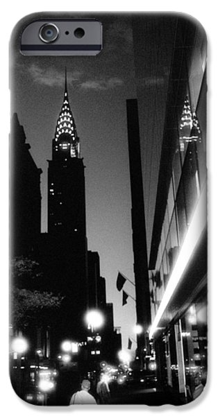 IPhone 6 Case featuring the photograph 42nd-street-dawn by Dave Beckerman