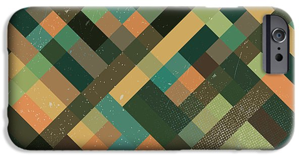 Retro iPhone 6 Case - Pixel Art by Mike Taylor
