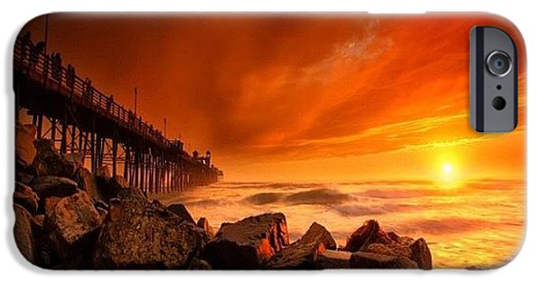Long Exposure Sunset At A North San IPhone 6 Case by Larry Marshall