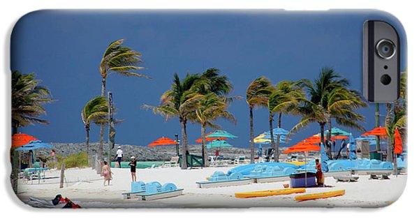 Jet Ski iPhone 6 Case - Caribbean, Bahamas, Castaway Cay by Kymri Wilt