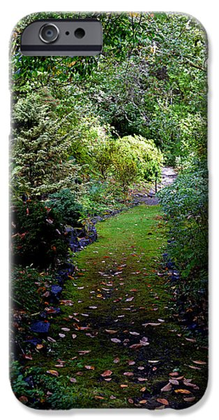 IPhone 6 Case featuring the photograph A Garden Path by Anthony Baatz
