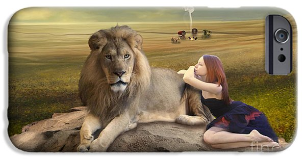 A Magnificent Friendship IPhone 6 Case by Linda Lees