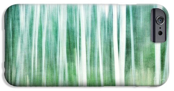 Tree iPhone 6 Case - A Matter Of Blues by Priska Wettstein