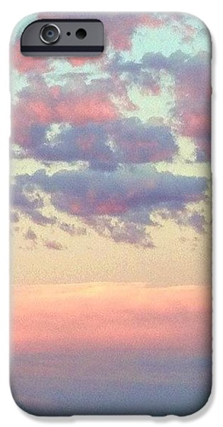 Sky iPhone 6 Case - Summer Evening Under A Cotton by Blenda Studio