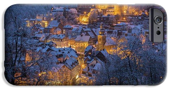Village iPhone 6 Case - A Winter Tale by Adrian Popan