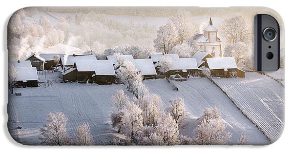 Village iPhone 6 Case - A Winter Tale by Sorin Onisor