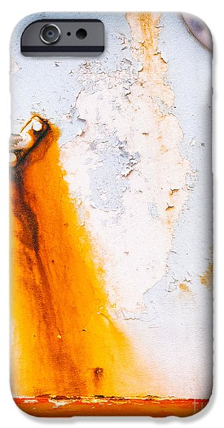 IPhone 6 Case featuring the photograph Abstract Boat Detail by Silvia Ganora