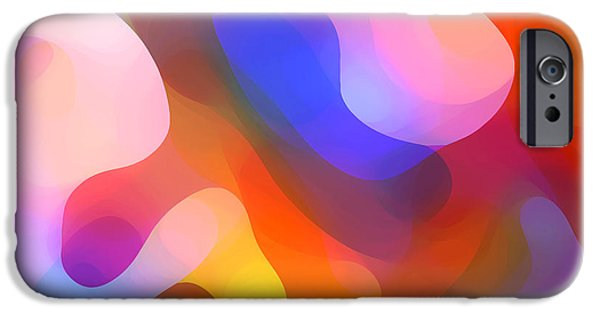 Abstract Movement iPhone Cases - Abstract Dappled Sunlight iPhone Case by Amy Vangsgard