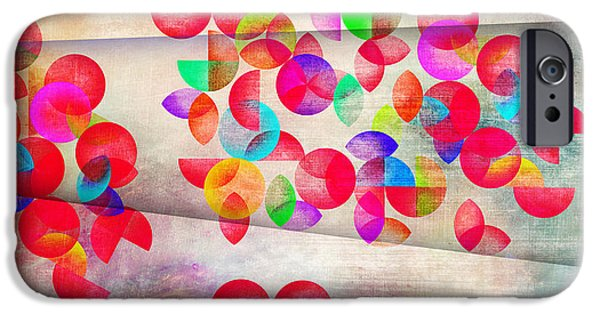 Dissing iPhone 6 Case - Abstract Floral  by Mark Ashkenazi