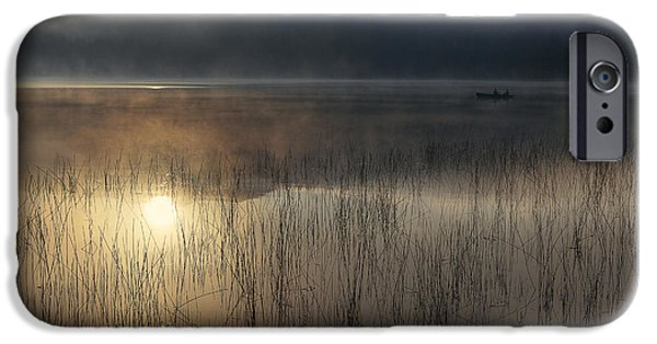 Lake iPhone 6 Case - Adirondack Sunrise by Magda  Bognar