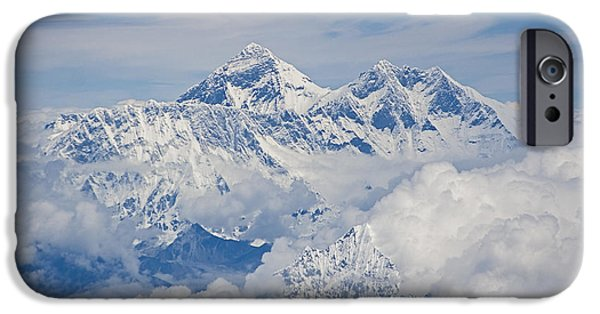 Aerial View Of Mount Everest, Nepal, 2007 IPhone 6 Case