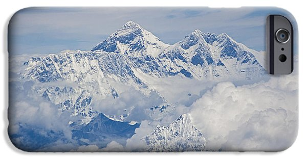 Aerial View Of Mount Everest IPhone 6 Case by Hitendra SINKAR